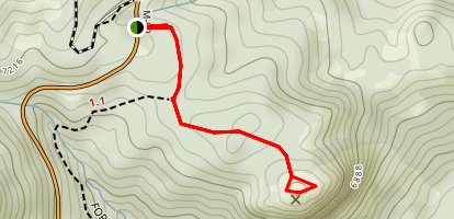 Dome Rock Trail Map