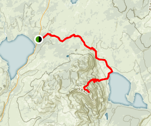 Mount Sheridan Trail Map