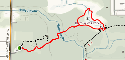 Keith Weiss Loop Trail Map