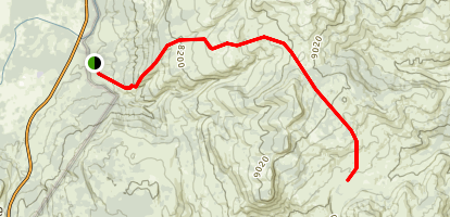 Sheffield Creek Trail Map