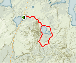 Heart Lake Loop Trail Map