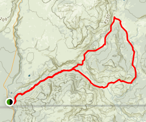 Snake River South Boundary Loop  Map