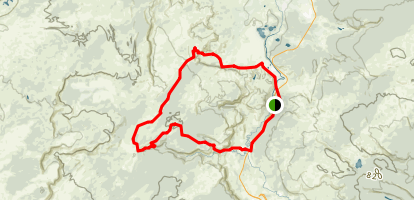 Fairy Creek Loop Trail Map