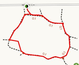 West 11th Street Park Nature Trail Map