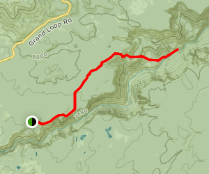 Seven Mile Hole Trail Map