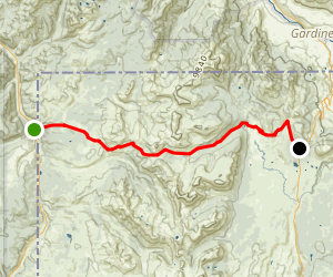 Fawn Pass Trail Map