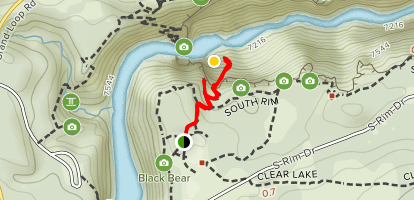 Uncle Tom's Trail Map
