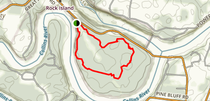 Rock Island Loop Trail Map