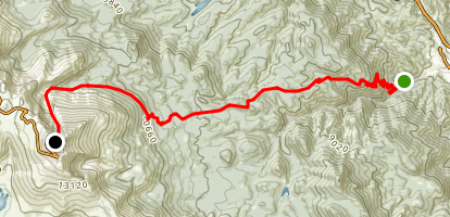 Bottomless Pit Trail Map