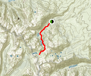 Hoover Lakes Trail Map