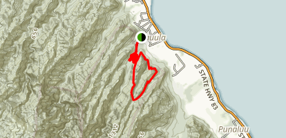 Maakua Ridge Trail Map