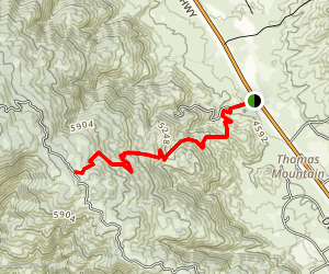 Ramona Trail Map