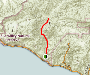 Sycamore Canyon Map