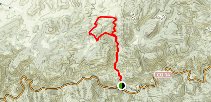 Hewlett Gulch Trail Map