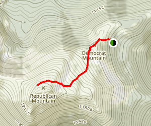 Republican Mountain Map