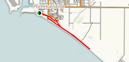Port Hueneme Beach Trail Map