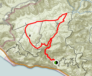 La Jolla Valley Loop (CLOSED) Map