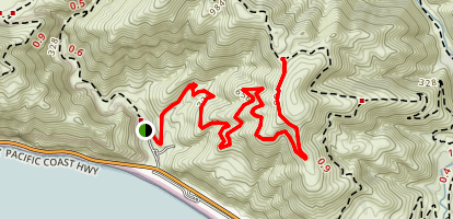 Ray Miller Backbone Trail Map