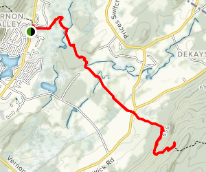 Stairway to Heaven and Pochuck Valley via Appalachian Trail  Map