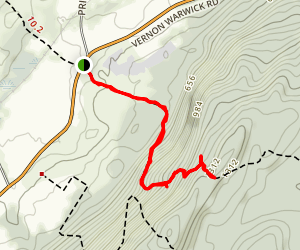 Stairway to Heaven Trail Map