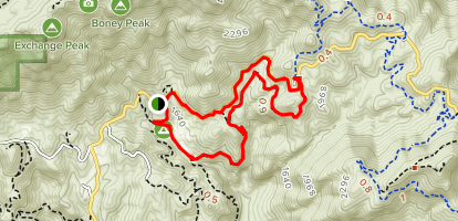Canyon View Loop Trail Map