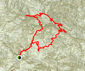 Little Pine Mountain Trail Map