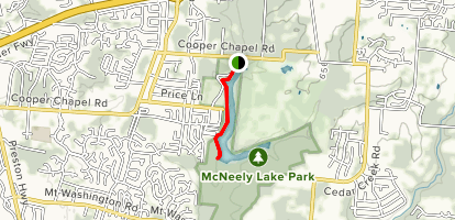 McNeely Park Trail Map