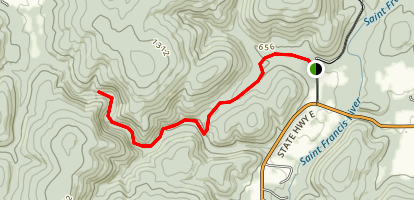 Lower Rock Creek Trail Map