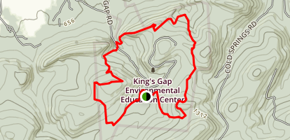 Kings Gap Hollow Map