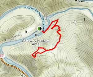 Black Powder Trail Map