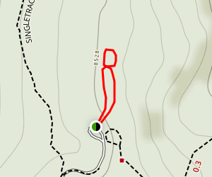 Earthquake Fault Trail Map
