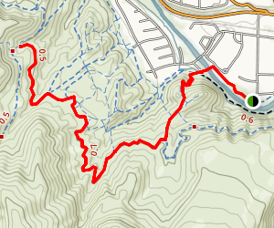 Hole in the Wall Trail Map