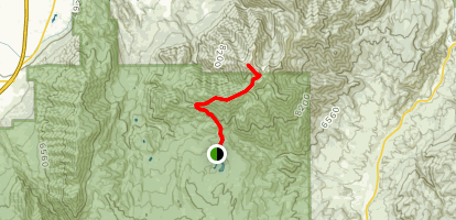 Loafer Mountain Trail Map