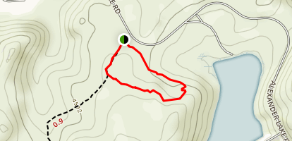 Lakeview Loop Trail Map