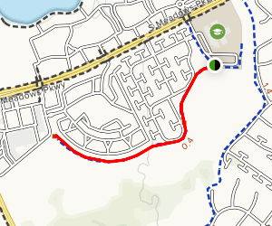 South Meadows Trail Map