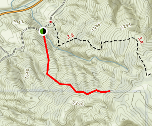 Willow Spring Trail Map