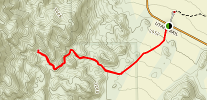 Contact Mine Trail Map