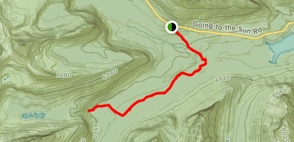 Florence Falls Trail Map