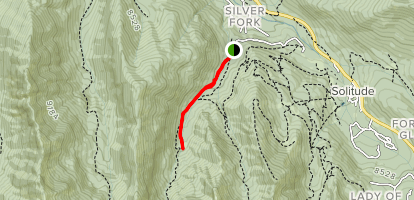 Silver Fork Trail Map