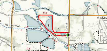 North Shield Pond Trail Map