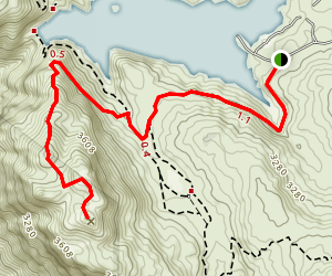 Morena Butte Trail Map
