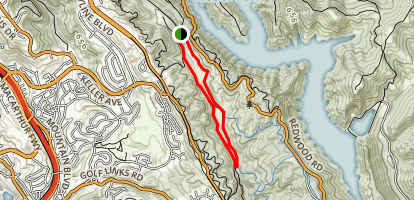 Grass Valley/ Brandon Trail Loop Map