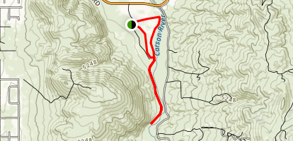 Pasture River - Mexican Ditch Loop Trail Map