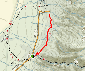 Wellington Ditch Trail Map