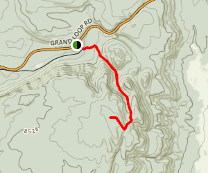 Divide Mountain Trail Map
