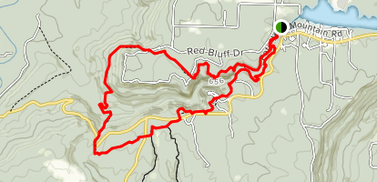 Winthrop P. Rockefeller Boy Scout Trail Map