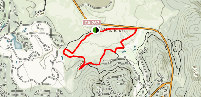 Martis Creek Trail Map