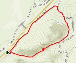 Deadman's Loop Trail Map