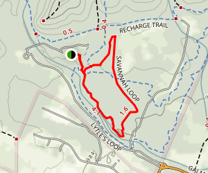Savanah Trail Map