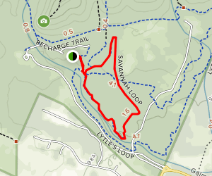 Savannah Trail Loop Map